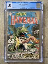 Brave and the Bold #34 CGC 0.5 COMPLETE! 1st App. SA Hawkman & Hawkgirl! 1961 DC