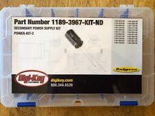 Rubycon Power-Kit-2 Capacitor Kit Digi-Key 1189-3967-Kit-Nd (66 Pieces)