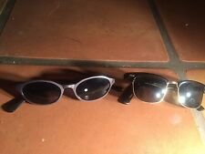 lot of 2 pair of sunglasses kenneth cole and club shred awesome parts or repair