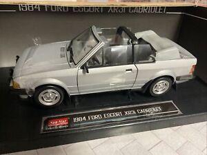 1984 Ford Escort XR3i Cabriolet Convertible 1/18 Sunstar 4993 1/600 Silver