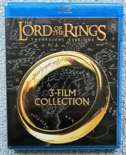 The Lord of the Rings: The Motion Picture Trilogy (Blu-ray Disc, 2014, 3-Disc)