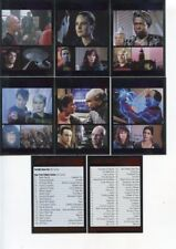 STAR TREK The Next Generation Complete Series 1 TNG Parallel Card SET 90 Cards