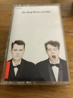 Pet Shop Boys Cassette Tape - Actually Album Music OLDIES Good Condition