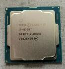Intel Core i7-8700T SR3WX SIX CORE CPU 8700T 2.40GHz / 4.00GHz LGA1151