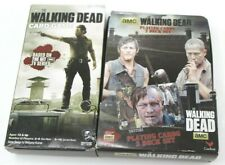 The Walking Dead Card Game & New Playing cards, 2 deck set in collector tin Lot
