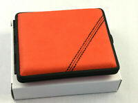 vom Hofe Zigaretten Etui Racing Orange - seit 1912 Made in Germany