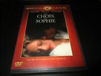 "DVD ""LE CHOIX DE SOPHIE"" Meryl STREEP, Kevin KLINE / Alan J. PAKULA"