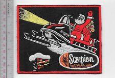 Snowmobile Scorpion Snowmobile & Trail-A-Sled Santa Crosby, Minnesota Promo larg