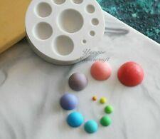 Circle Sugarcraft Silicone Mould Fondant Gumpaste Molds Cake Decorating Tools