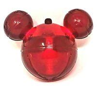 New! Disney Parks Disneyland Red Glow Cube Light Up Christmas Mickey