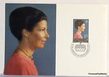 LIECHTENSTEIN  N°51 PRINCESSE MARIE   Carte Postale Maximum  LIE31
