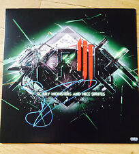 SKRILLEX SIGNED ALBUM PROOF COA AUTOGRAPHED VINYL RECORD SCARY MONSTERS
