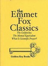 Emmet Fox The Golden Key Classic Booklet + Mental Equivalent