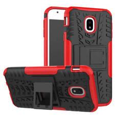 Hybrid Case 2teilig Outdoor Rot Tasche Hülle für Samsung Galaxy J5 J530F 2017