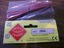29600 Track To Pack Connector Wires 2 Aristo Craft Trains Model Railroad ART