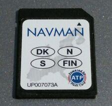 NAVMAN ICN GPS SATELLITE NAVIGATION SD MAPS DENMARK SWEDEN NETHERLANDS FINLAND