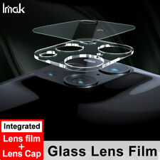 IMAK For OPPO Find X3 Pro Camera Lens (Film + Cap) Full Coverage Glass Protector