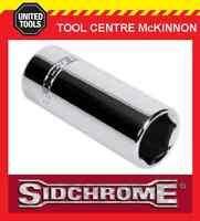 """SIDCHROME SCMT13243 3/8"""" DRIVE 6pt 13mm TORQUEPLUS DEEP SOCKET"""