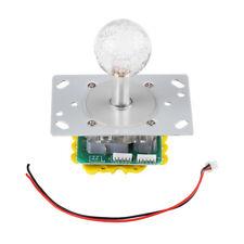 Arcade LED Illuminated Joystick Colorful Switchable 4/8 way operation+2P Wire im