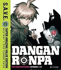 Danganronpa The Animated Series: Season One - S.A.V.E. [New Blu-ray] With DVD