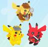 Bausteine Pokémon Pikachu Ninja Cosplay Kinder Figur Spielzeug Modell Geschenk