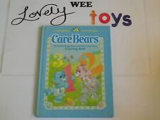 1984 Care Bears- The Baby Hugs Bear and Baby Tugs Bear Counting Book - VERY GOOD