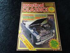 Practical Classics Magazine Oct 1983 Lotus Seven, Standard Swallow, Mercedes 300