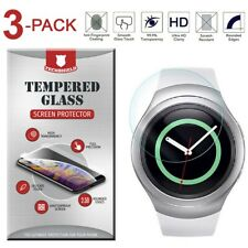 3-Pack Tempered Glass Film Screen Protector For Samsung Gear S2/S2 Classic Watch