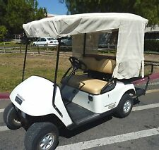 "Golf Cart Sun Shade Cover for 4 Seater Golf Cart Roof up to 80"" Beige"