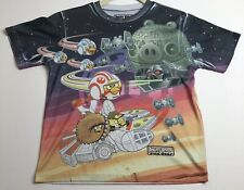 Angry Birds Star Wars Kids Graphic Print T Shirt Size 6 7 Short Sleeve Crewneck