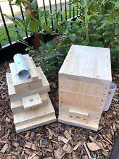 Stingless OATH Bee Hive | Do It Yourself Kit | Native Beehive Honey Pot Design