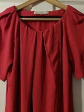 Vanessa Bruno, Raspberry Red, Dress, Size 40