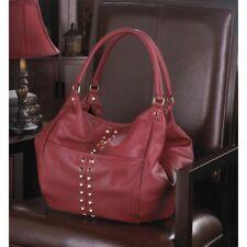 Breezy Couture Oversized Merlot Handbag Shoulder Bag Tote NEW