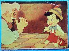 lampo figurines picture cards album figurine walt disney story 132 pinocchio abc