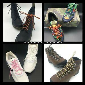 550 Paracord  Boots Trainers Shoes Strong Laces 180 CM Bronze Aglet 59 Colours