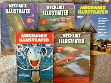 Mechanix Illustrated Lot of 5 1945-1953