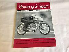 MOTORCYCLE SPORT - JUNE 1963 - Vol 4 Number 6 - FREE UK POSTAGE