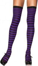 8eba4de1378e5 Purple Striped Stockings & Thigh-Highs for Women for sale   eBay