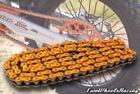 NEW TRIPLE-S HEAVY DUTY ORANGE CHAIN FOR KTM SX SX-F MOTOCROSS BIKES 520HD-120L