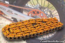 Nuevo Triple-S Resistente Cadena De Naranja para KTM SX SX-F MOTOCROSS MOTOS 520HD-120L