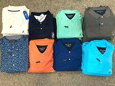 Big & Tall NWT Nautica Polo shirts stretch cotton blend golf sport casual formal