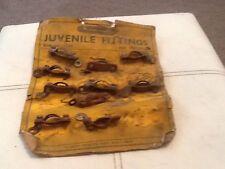 10 Nos Juvenile Tricycle Bicycle rod brake stirrup guides On Orig Card Film/shop