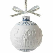 Wedgwood The Night Before Christmas Ball Ornament 2014 New In The Box