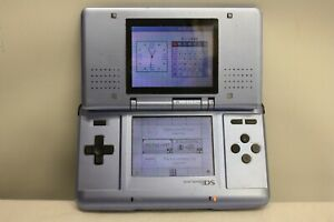 NINTENDO DS NTR-001 HANDHELD PORTABLE GAME CONSOLE MISSING CHARGER NO PEN