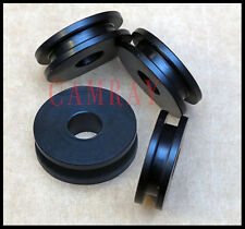 4 PIECE WINDSHIELD MOUNTING GROMMETS FOR HARLEY ROAD KING, HERITAGE,& SOFTAIL