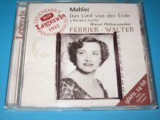 Ferrier, Walter / Mahler: Das Lied von der Erde - Rückert Lieder - CD