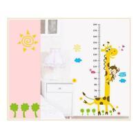 Giraffe Kid's Room Decor Wall Stikers Hot Selling Kindergarten Height Growth