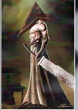 PYRAMID HEAD Print HAND SIGNED by Artist Damon Bowie w COA