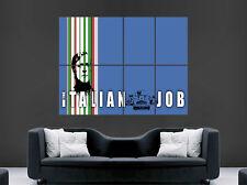 Italian job movie poster classique film mini voitures art mural photo imprimé italie