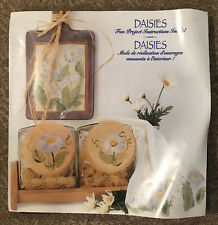 Plaid Decorator Blocks 7 Piece Shapes 53433 Daisies - Flowers - New